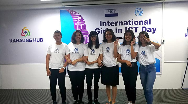 International Girls in ICT Day အခမ်းအနား