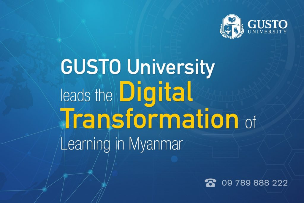 GUSTO University leads the Digital Transformation of Learning in Myanmar