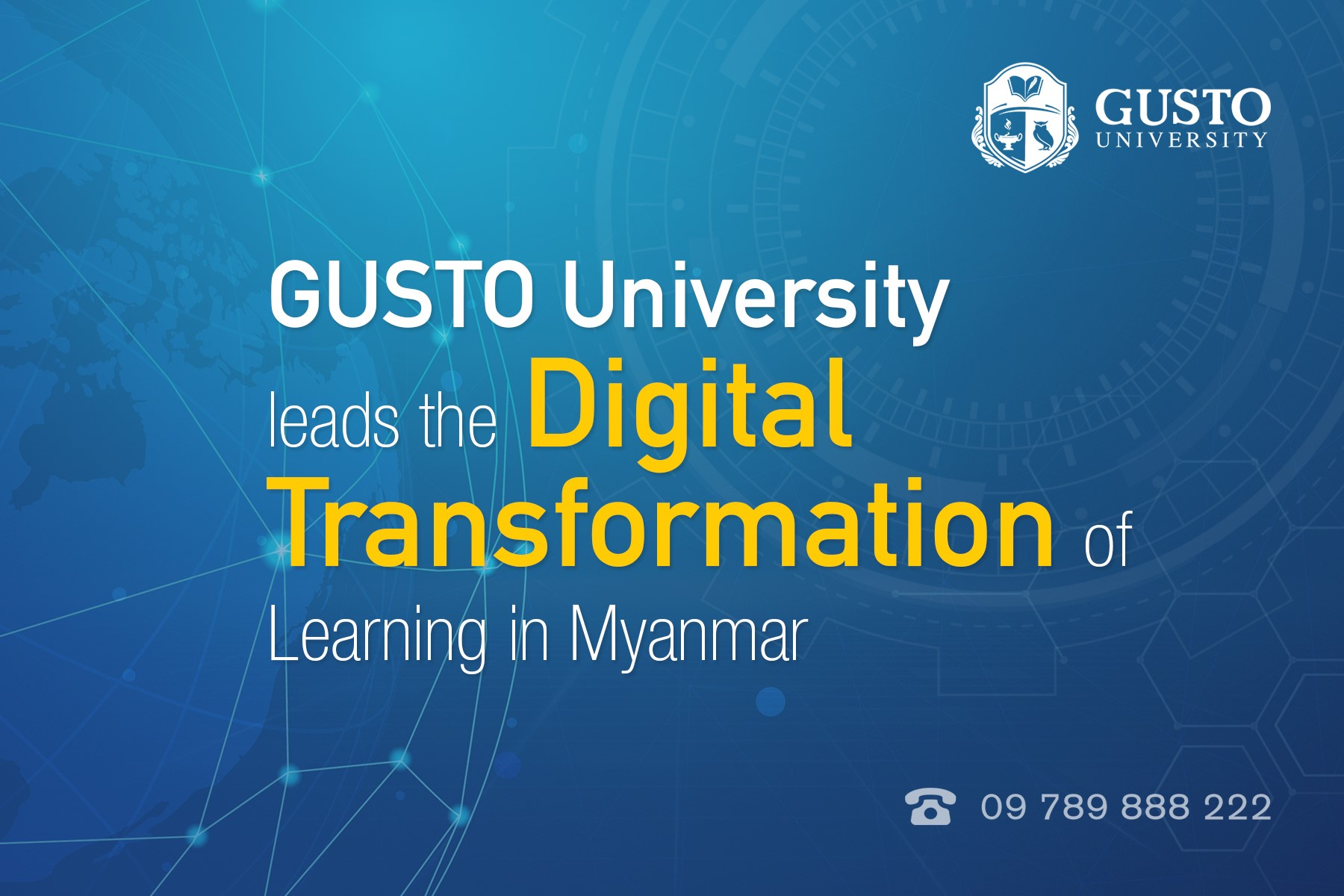 GUSTO University leads the…